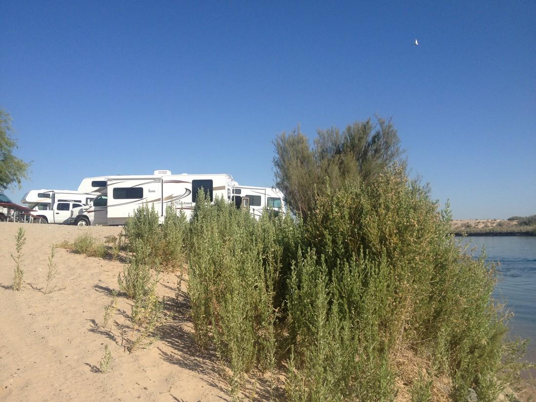 Pirate Cove Resort - Needles - California - Amerika - Doets Reizen