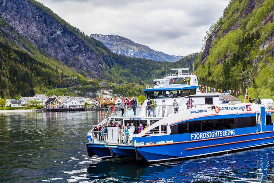 Fjordcruise Bergen - Bergen - Noorwegen - vakantie Noorwegen - Doets Reizen