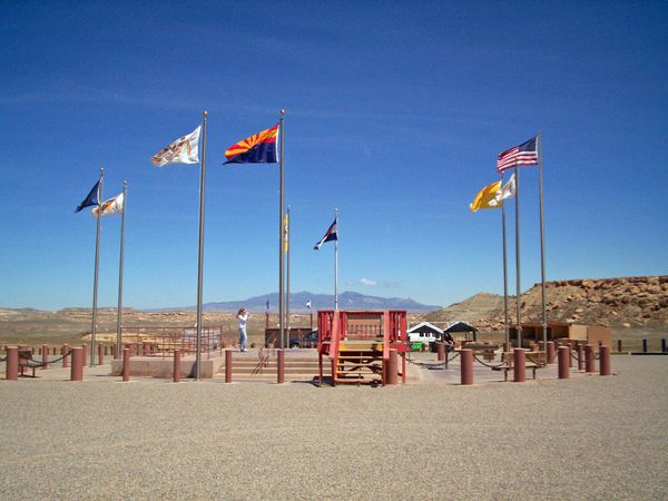 Four Corners Monument - Arizona -  Doets Reizen