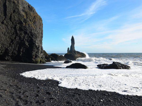 Black Sand Beach - Big Island - Hawaii - Doets Reizen