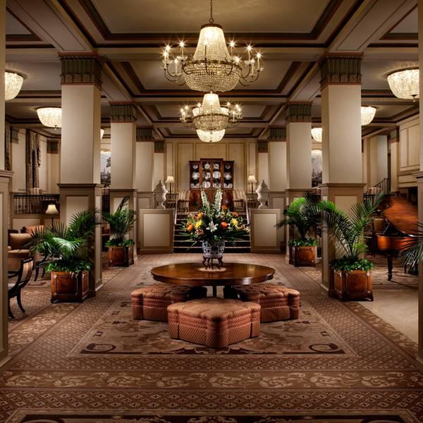 Francis Marion Hotel - lobby