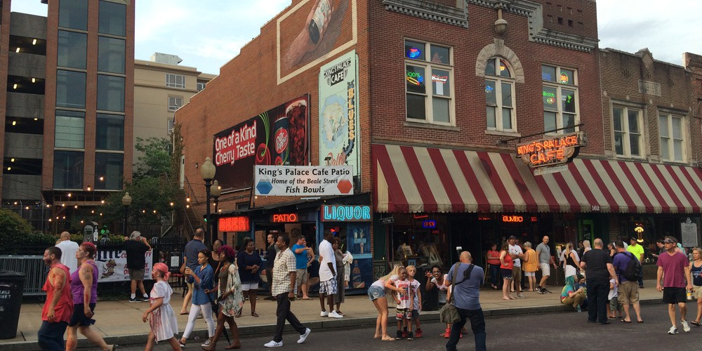 Mempis Beale Street Tennessee