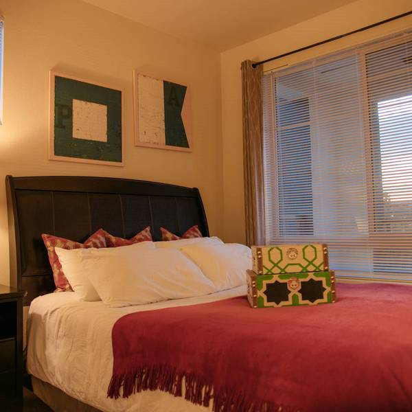 Los Angeles Area Appartments - slaapkamer