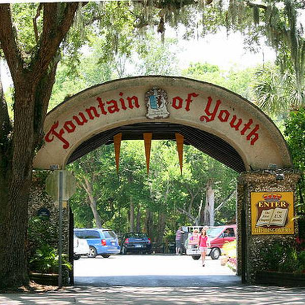 Fountain of Youth Archaeological Park - St. Augustine - Florida - Doets Reizen