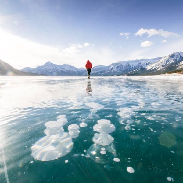 Bubble Lake Tour Banff Alberta