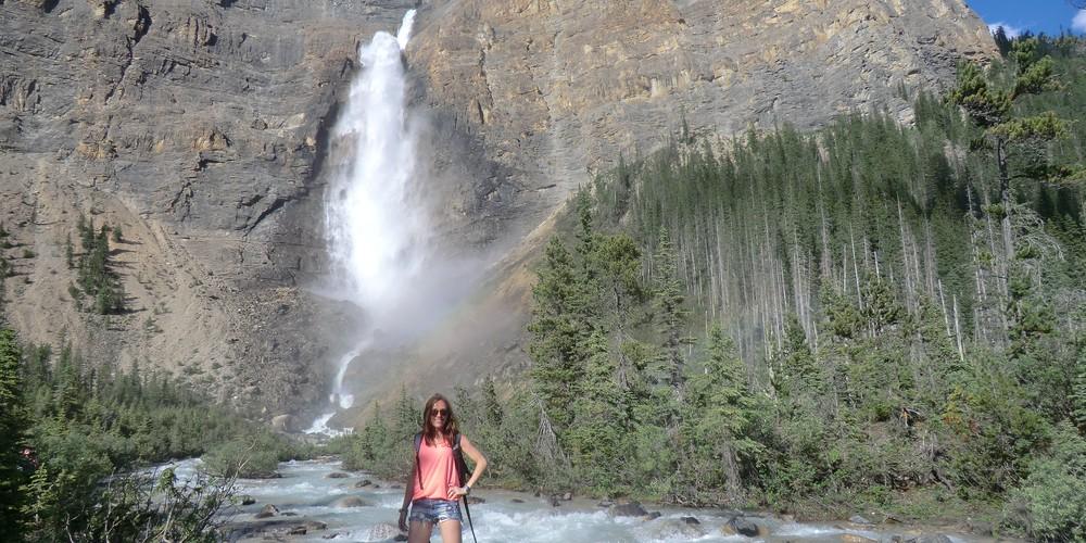 Takkakaw Falls - Yoho National Park - British Columbia - Canada - Doets Reizen