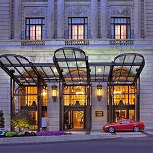 Marriott Downtown Philladelphia - vooraanzicht