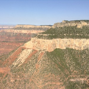Helicoptervlucht over de Grand Canyon - Dag 9 - Foto