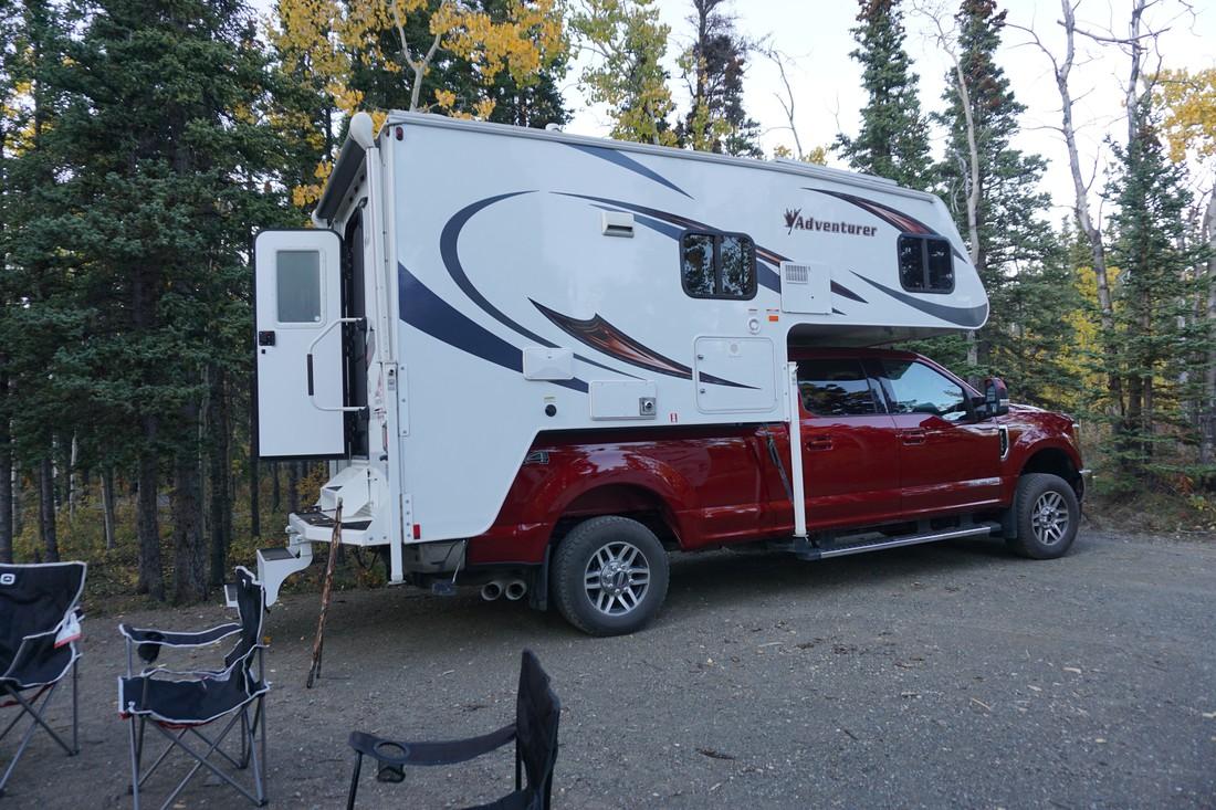 Campground Yukon - Camping - Canada - Doets Reizen