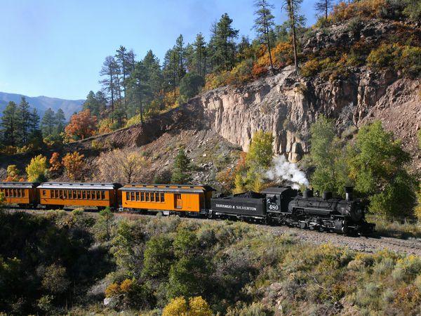 Silverton Train - Durango - Colorado - Doets Reizen
