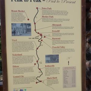 Op weg naar Estes Park in de Rockey Mountains - Dag 3 - Foto