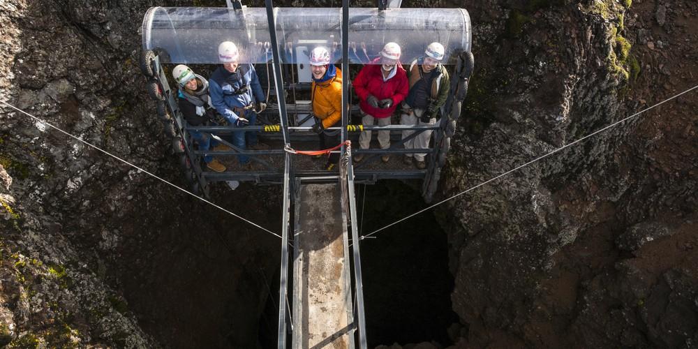 Inside The Volcano - Excursie - IJsland - Doets Reizen