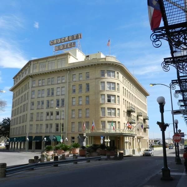 Crockett Hotel - aanzicht