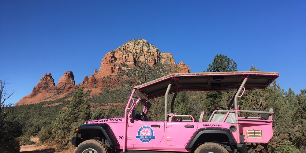 Broken Arrow Jeep Tour - Sedona - Arizona - Doets Reizen