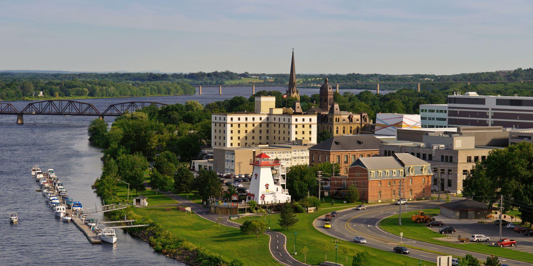 Fredericton - New Brunswick - Canada - Doets Reizen