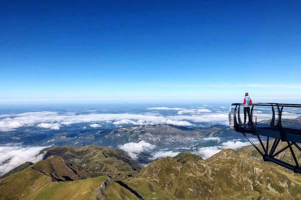 Uitzicht Pic du Midi Frankrijk Pyrenees Doets Reizen - credits to @margaeux_lpte