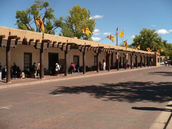 The Plaza - Santa Fe - New Mexico - Amerika - Doets Reizen