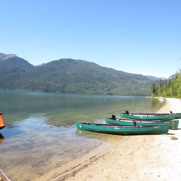 Wells Gray Provincial Park Clearwater Lake