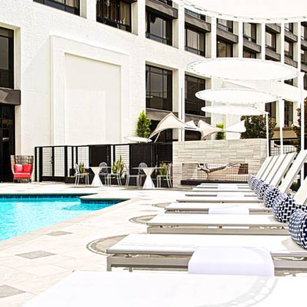 Marriott Beverly Hills - pool1