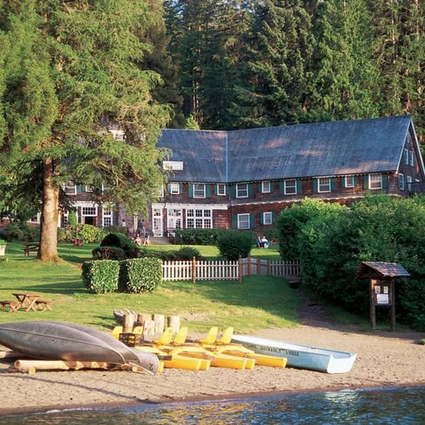 Lake Quinault Lodge - exterior