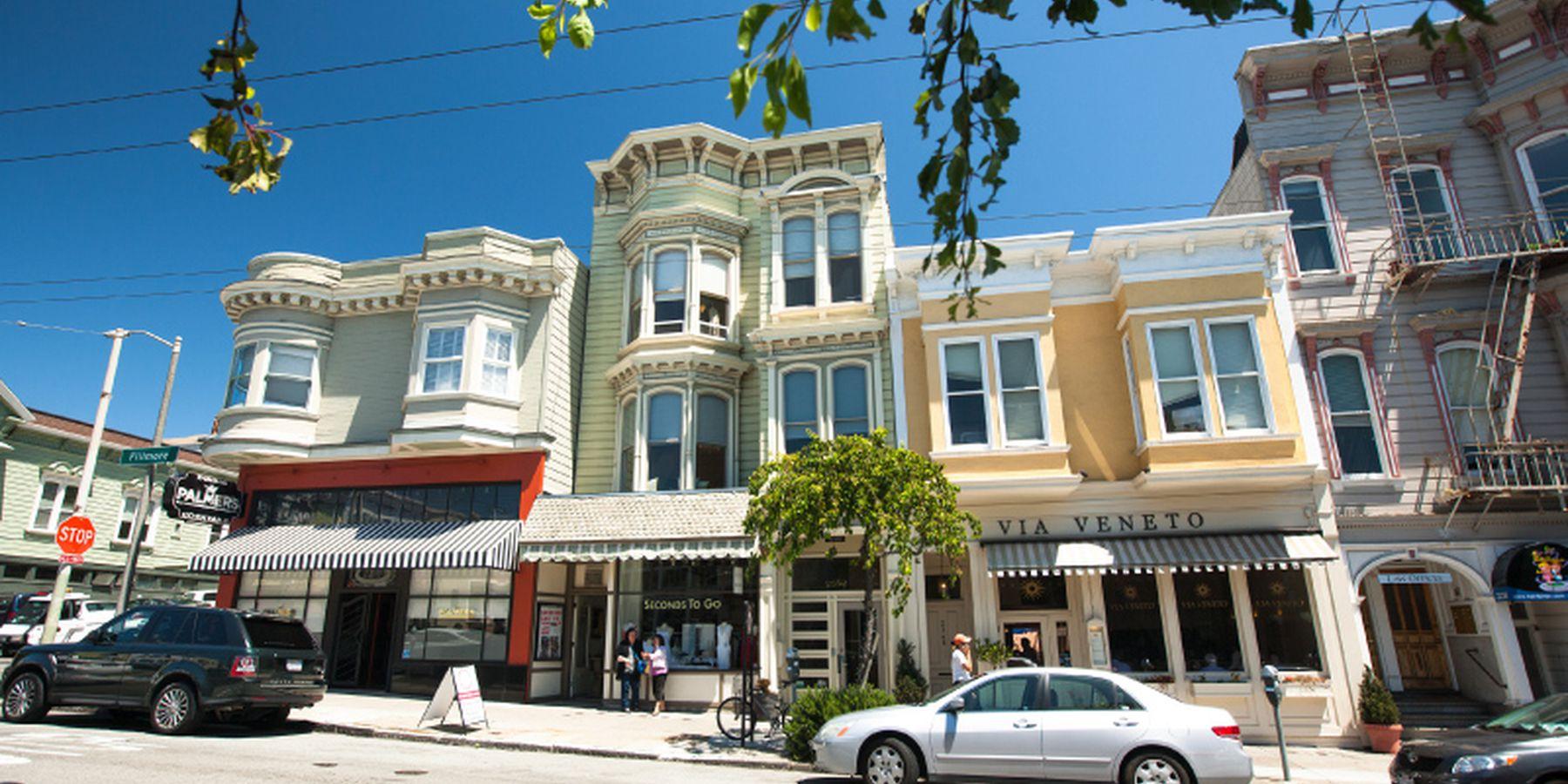 Lower Pac Heights - San Francisco - California - Amerika - Doets Reizen