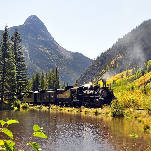 Durango - Silverton Train in Durango, Colorado