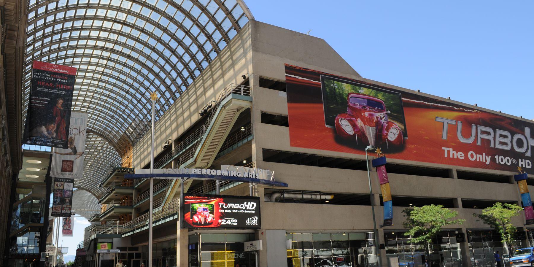 Denver Performing Arts Complex - Denver - Colorado - Doets Reizen