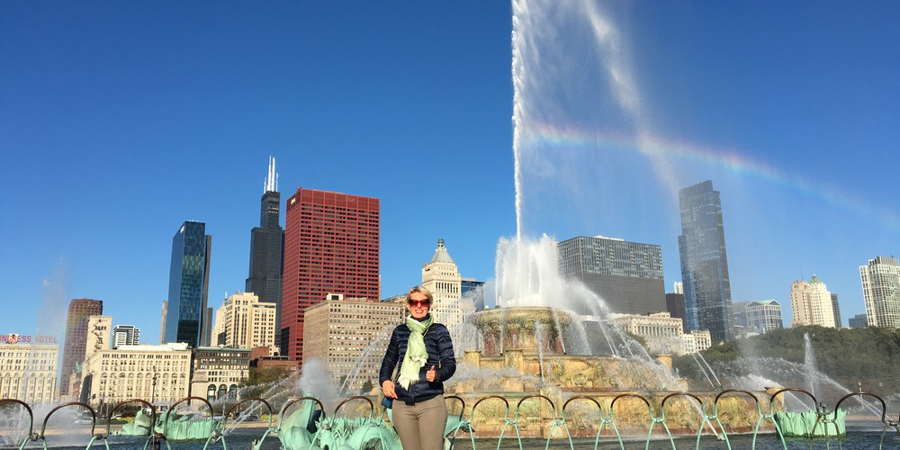 Buckingham Fountain - Chicago - Illinois - Doets Reizen