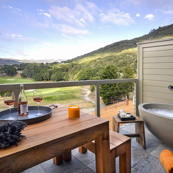 Carmel Valley Ranch - balkon