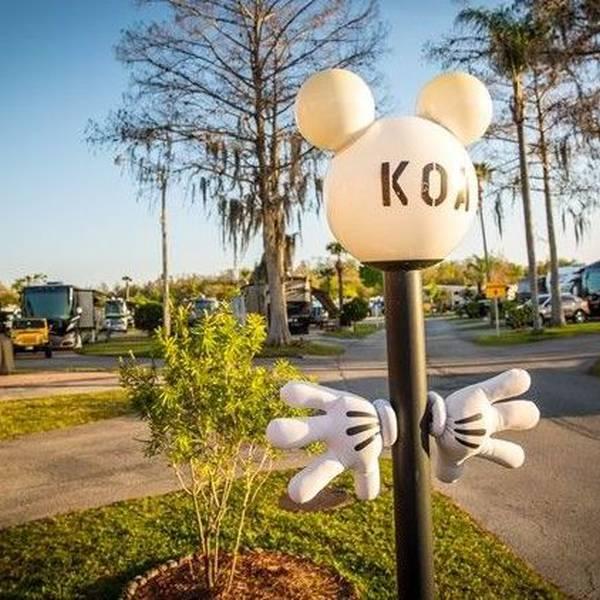 Orlando/Kissimmee KOA, sfeer op de camping