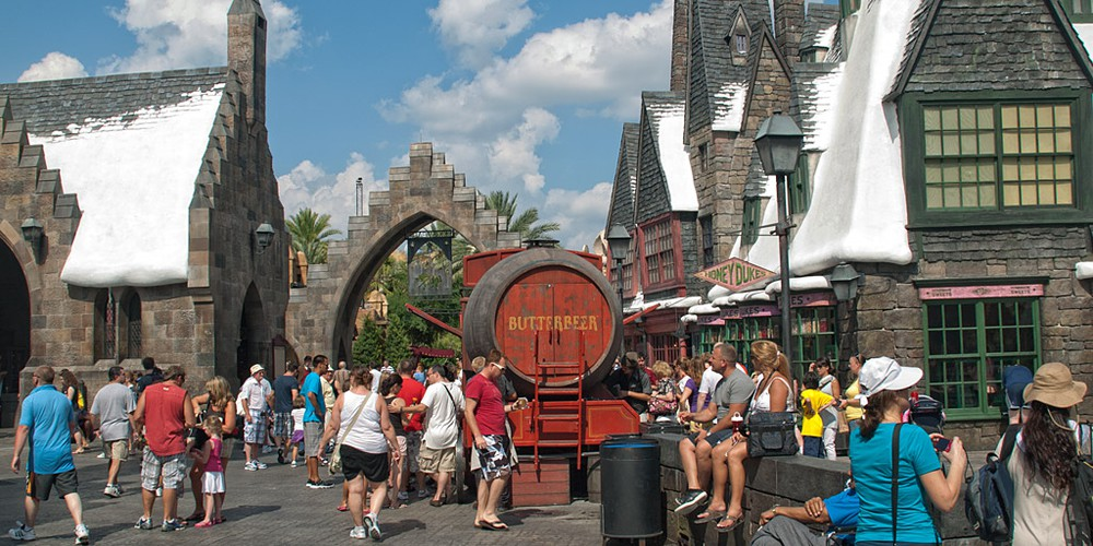 Wizzarding World of Harry Potter in Island of Adventure Orlando
