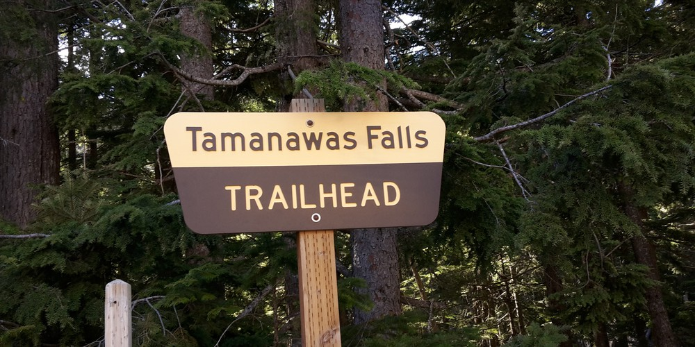 Tamanawas Falls - Oregon - Doets Reizen
