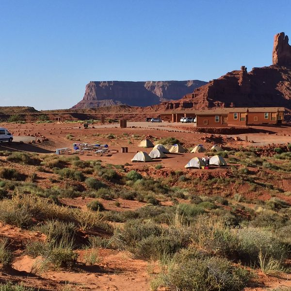 Southwest Tour - camping