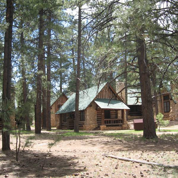 Bryce Canyon Lodge - aanzicht 2