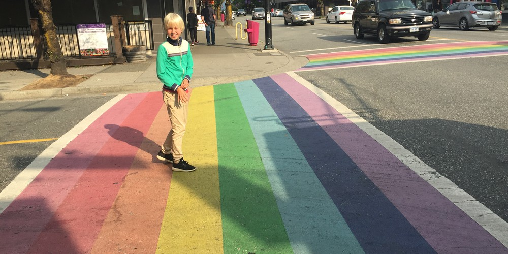 Davie Street Vancouver British Columbia