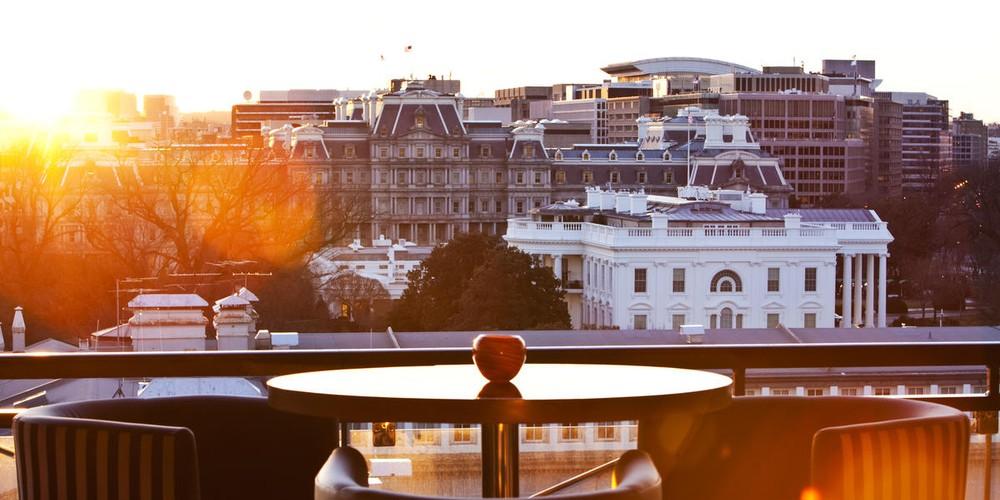 W Rooftop Bar - Washington D.C. - Doets Reizen