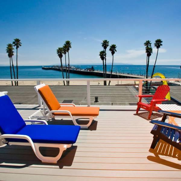 Beach Street Inn & Suites - patio