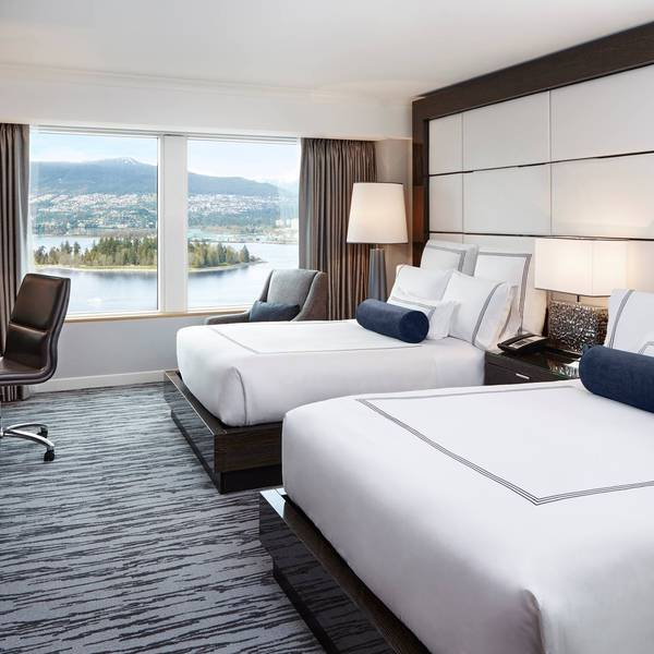 Pan Pacific Vancouver - Deluxe Harbour Double Doub