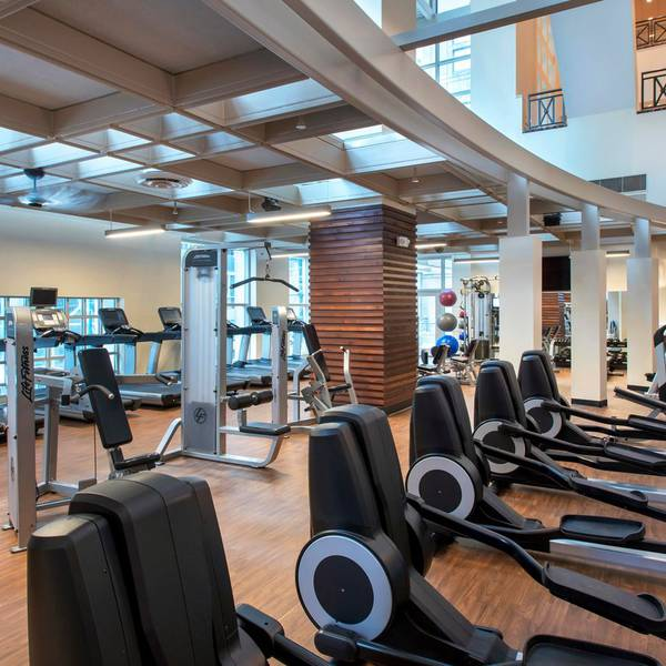 Marriott Downtown Philadelphia - gym
