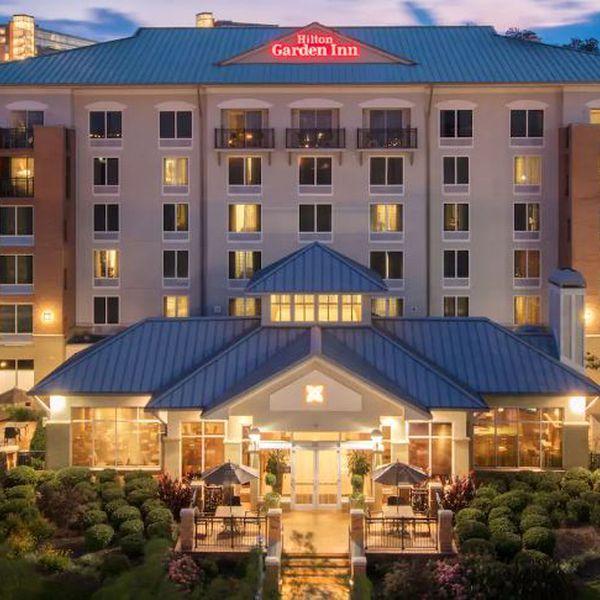 Hilton Garden Inn Chattanooga- aanzicht