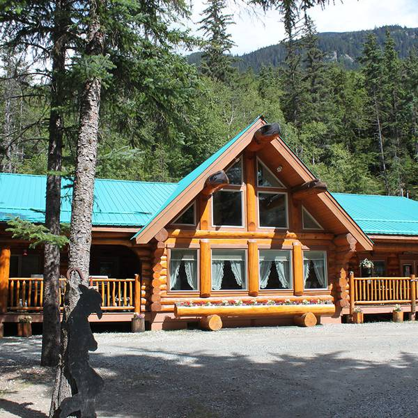 Chilkoot Trail Outpost Cabins - fire