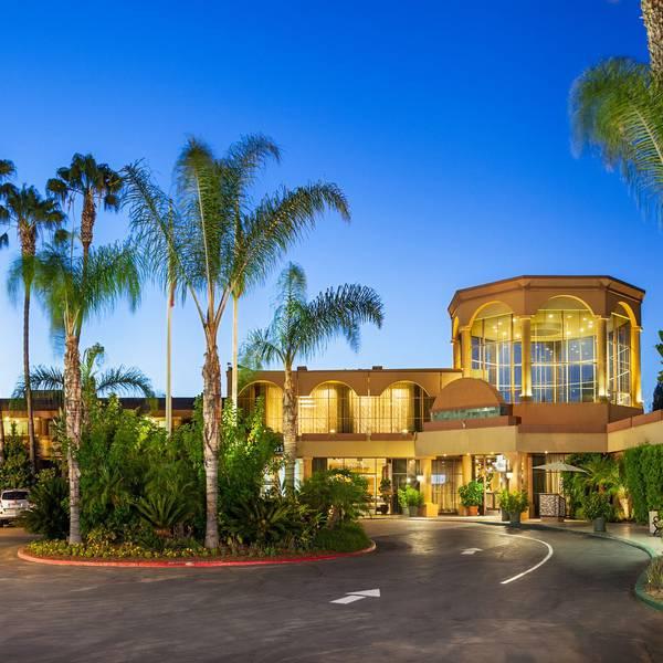 Handlery Hotel San Diego Aanzicht
