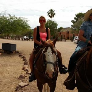 Tucson - paard rijden - Dag 19 - Foto