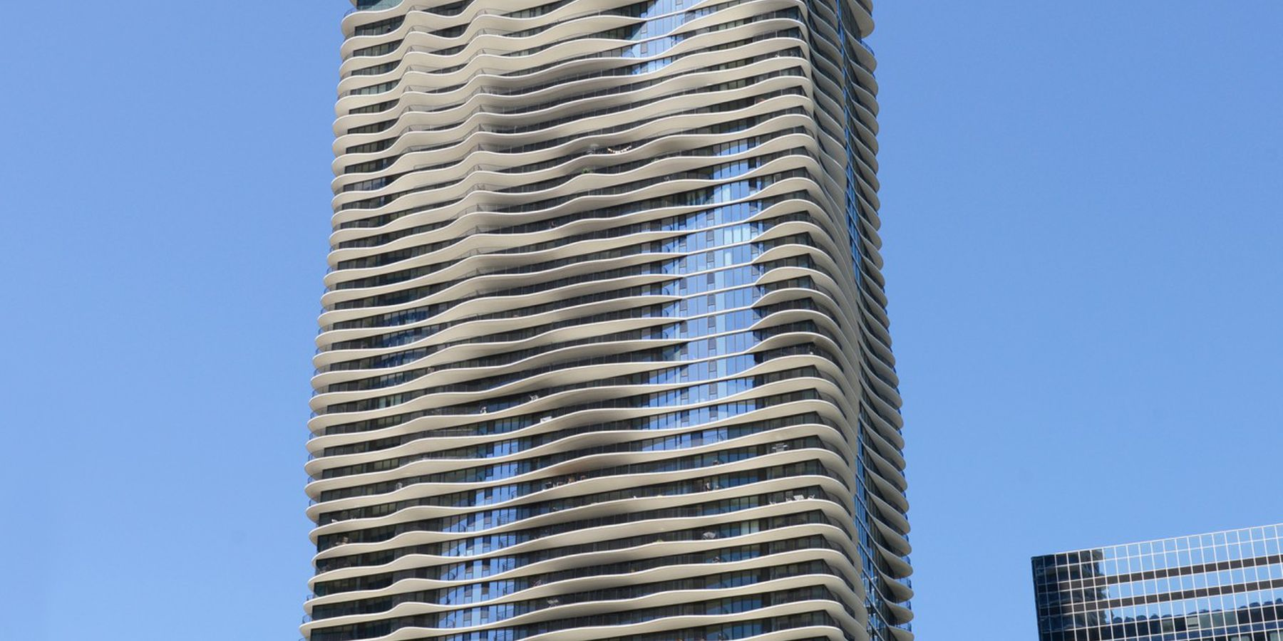 Aqua tower - Chicago - Illinois - Doets Reizen