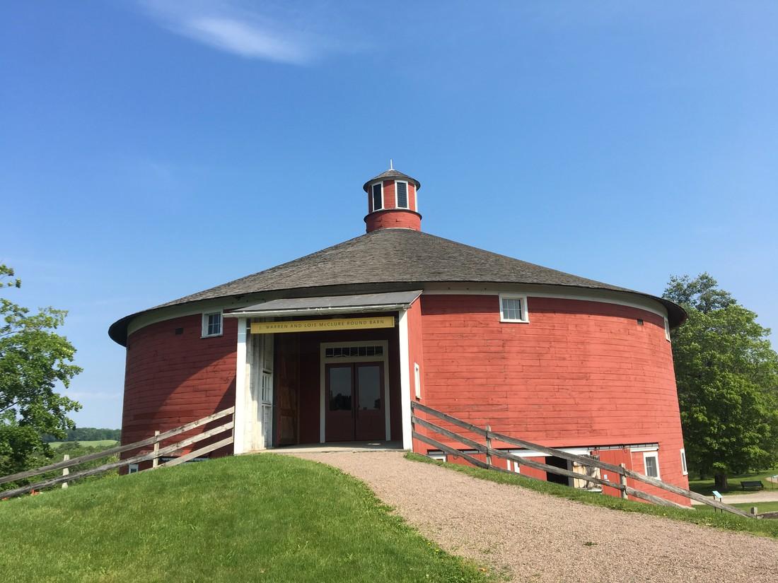 Round Barns - Vermont - Amerika - Doets Reizen