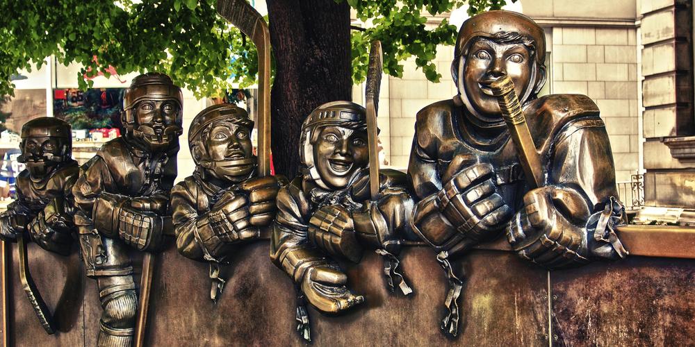 Hockey Hall of Fame - Toronto - Ontario - Canada - Doets Reizen