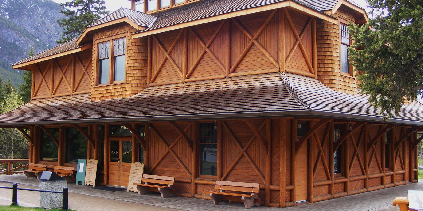 Banff Park Museum - Alberta - Canada - Doets Reizen