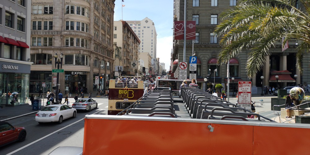 Hop-on Hop-off - San Francisco - California - Amerika - Doets Reizen