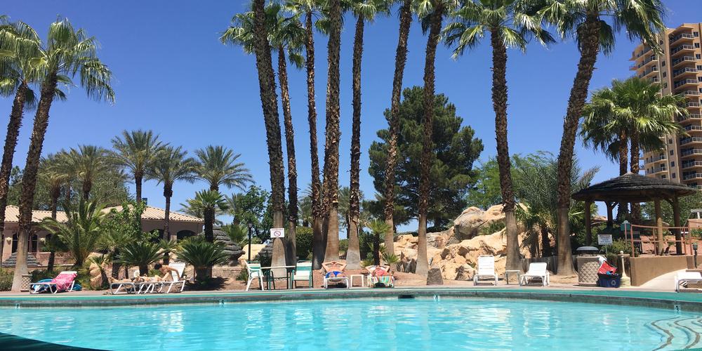 Oasis Las Vegas RV Resort, zwembad