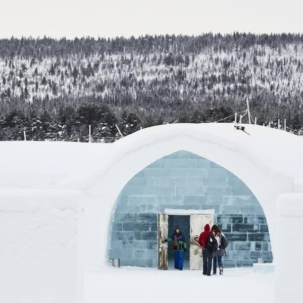Droomreis Zweden&Noorwegen deluxe Winter-icehotel